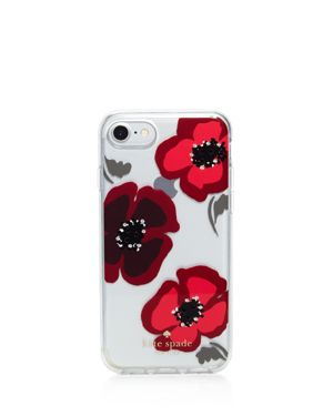 kate spade new york Jeweled Poppy iPhone 7/8 Case