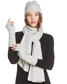 C by Bloomingdale's Donegal Cashmere Hat, Scarf & Arm Warmers - 100% Exclusives_0