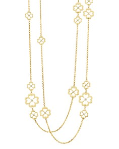"""Gumuchian 18K Yellow Gold G Boutique Kelly Diamond Clover Station Necklace, 34"""" - Bloomingdale's_0"""