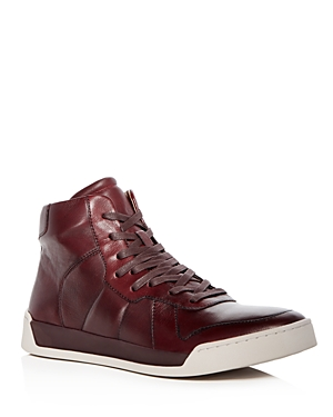 John Varvatos Star Usa Men's Remy Leather High Top Sneakers