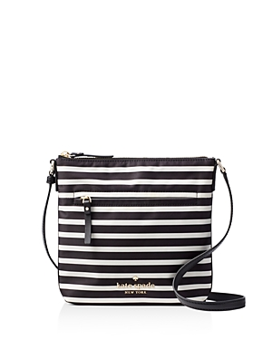 kate spade new york Watson Lane Hester Striped Nylon Crossbody