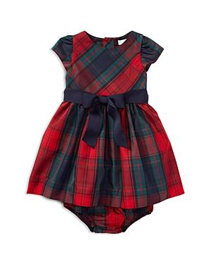 Ralph Lauren Childrenswear Girls' Plaid Taffeta Dress with Bloomers - Baby