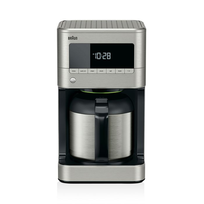 Braun - BrewSense Stainless Steel 10c Thermal Carafe Drip Coffee Maker with PureFlavor System