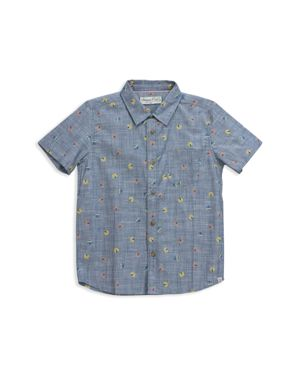 Sovereign Code Boys' Circus Tent Chambray Shirt, Little Kid - 100% Exclusive