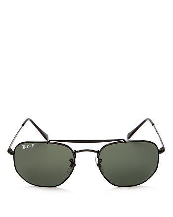 04dd0b4817ca1 Ray-Ban - Unisex Marshal Polarized Hexagonal Sunglasses