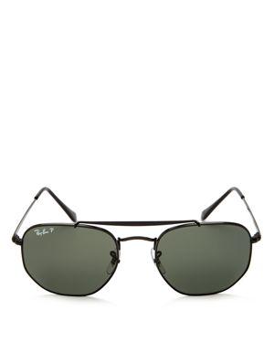 Ray-Ban Marshal Polarized Hexagonal Sunglasses, 54mm