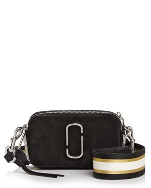 Marc Jacobs Snapshot Pave Chain Detail Leather Camera Bag 2748974
