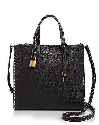 6d2d4768f4a9 MARC JACOBS - The Mini Grind Leather Crossbody