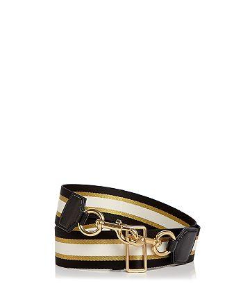 MARC JACOBS - Sport Stripe Webbing Handbag Strap