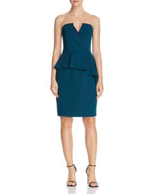 $Adelyn Rae Kacey Strapless Dress - Bloomingdale's