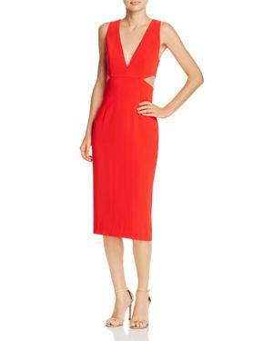 Do and Be Cutout Midi Dress