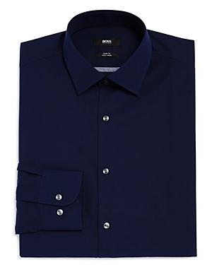 Boss Jerris Solid Slim Fit Dress Shirt