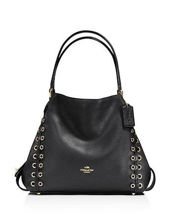 COACH - Edie Shoulder Bag 31 with Coach Link Detail