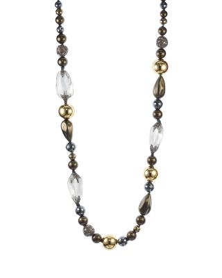 Alexis Bittar Baroque Pearly Beaded Single-Strand Necklace eNGMQfE