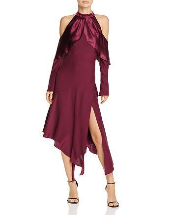 Parker - Tanya Asymmetric Silk Dress