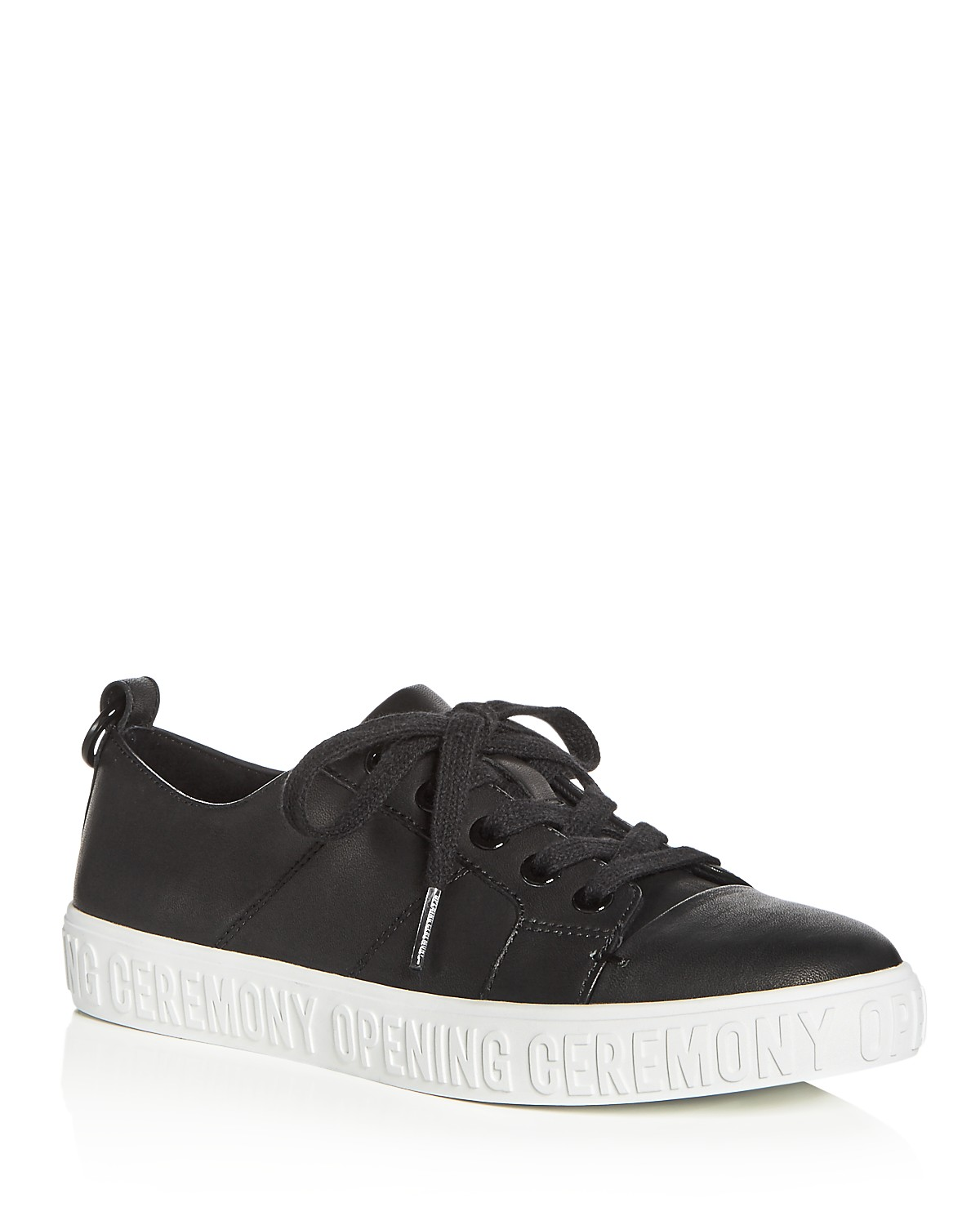 Opening Ceremony Women's La Cienega Leather Lace Up Sneakers iLtCpPxZkT