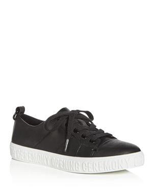Opening Ceremony Women's La Cienega Leather Lace Up Sneakers