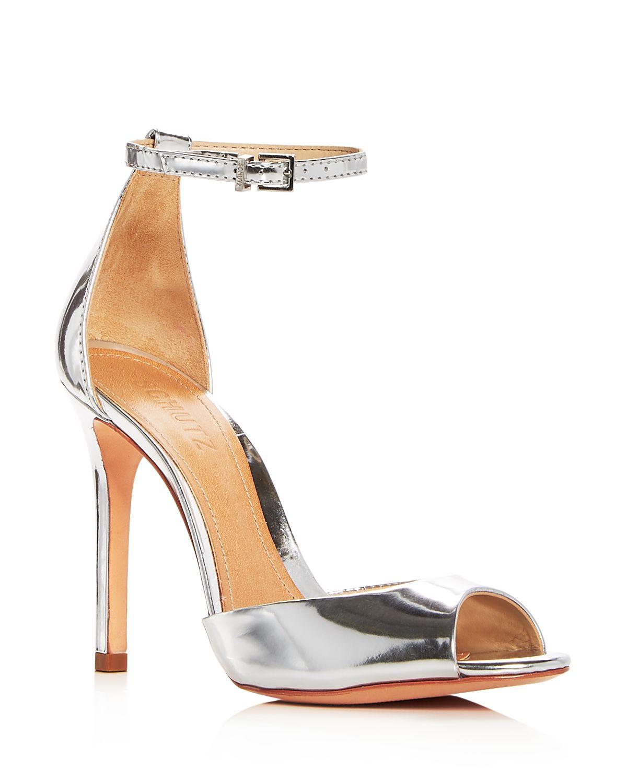 Schutz Women's Saasha Lee Ankle Strap Sandal