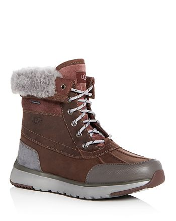 58c68d4499e UGG® Men's Eliasson Nubuck Leather Cold-Weather Boots | Bloomingdale's