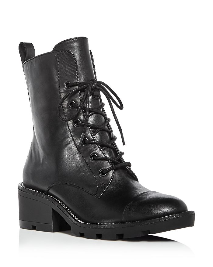 Kendall + Kylie - Women's Park Leather Cap Toe Booties