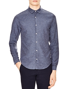 Sandro Supra Slim Fit Button-Down Shirt