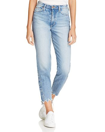 Joe's Jeans - The High-Rise Smith Straight Ankle Jeans in Prairie