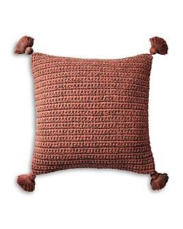 "Coyuchi - Organic Woven Tassel Decorative Pillow, 20"" x 26"""