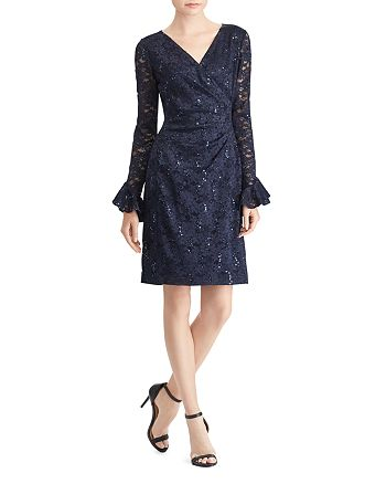 Ralph Lauren - Sequin Lace Dress