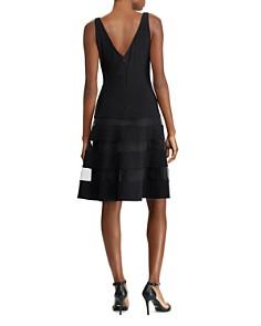 Ralph Lauren - Tulle-Trim Jersey Dress