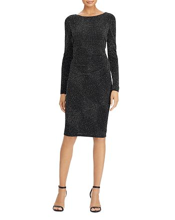 Ralph Lauren - Metallic Jacquard Dress