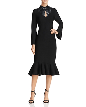 Nic+Zoe Dress Embellished Midi Dress