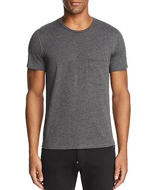 7 For All Mankind Raw Pocket Crewneck Short Sleeve Tee