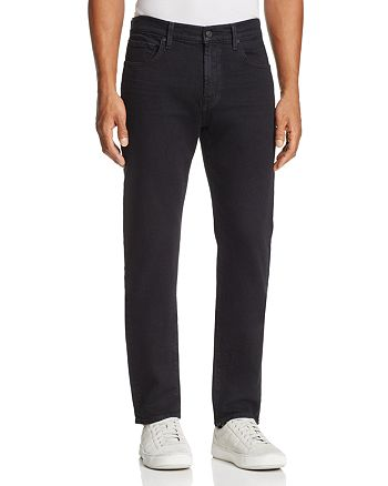 7 For All Mankind - Adrien Luxe Sport Slim Fit Jeans in Vyrin Black