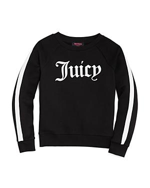 Juicy Couture Girls Logo Sweater  Big Kid