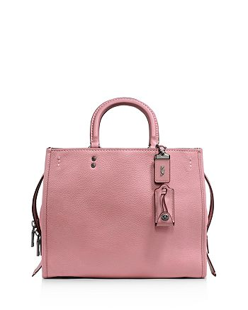 COACH - Mixed Leather Rogue Bag