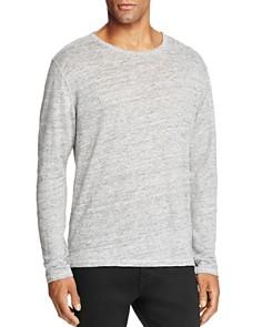 rag & bone - Owen Knit Crewneck Long Sleeve Shirt