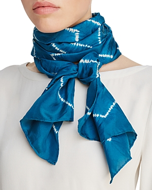 Eileen Fisher Tie Dye Silk Scarf at Bloomingdale's