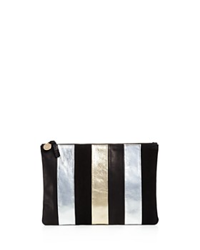 Clare V. - Flat Leather Clutch