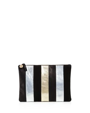 Clare V. x Story Flat Leather Clutch 2757835