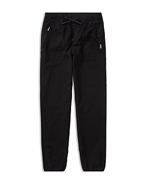 Ralph Lauren Childrenswear Boys' Twill & French Terry Joggers - Big Kid
