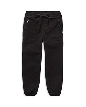 Ralph Lauren Childrenswear Boys' Twill & French Terry Pants - Little Kid