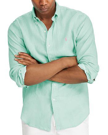 Polo Ralph Lauren - Classic Fit Linen Long Sleeve Button-Down Shirt