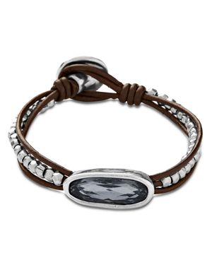 Uno De 50 The Tribe Bracelet in Gray/Silver