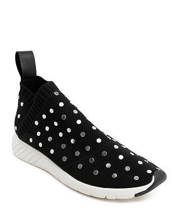 7b55764716633 Dolce Vita Women's Bruno Studded Knit Slip-On Sneakers | Bloomingdale's