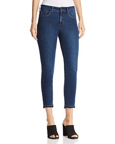 NYDJ Petites Alina Released Step Hem Ankle Jeans in Cooper - Bloomingdale's_0