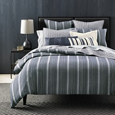 Oake Chambray Pleated Bedding Collection - 100% Exclusive - Bloomingdale's_0