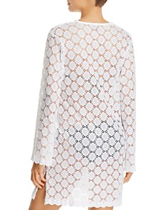 J. Valdi - V-Yoke Tunic Swim Cover-Up