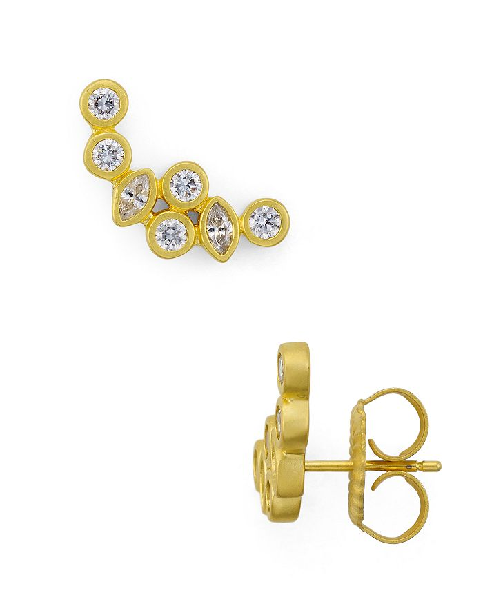 Freida Rothman - Radiance Ear Climber Earrings