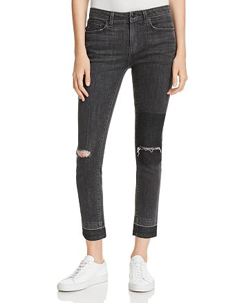 Derek Lam 10 Crosby - Devi Ankle High-Rise Authentic Skinny in Gray