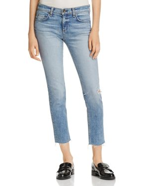 Dre Distressed Slim Boyfriend Jeans, Alphaville from LastCall.com